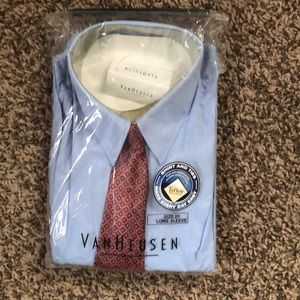 New in Packaging VanHeusen Shirt and Tie